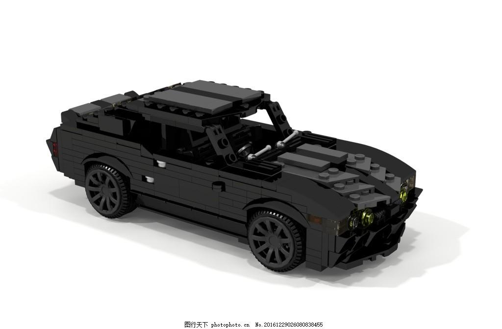 乐高积木玩具跑车玩具