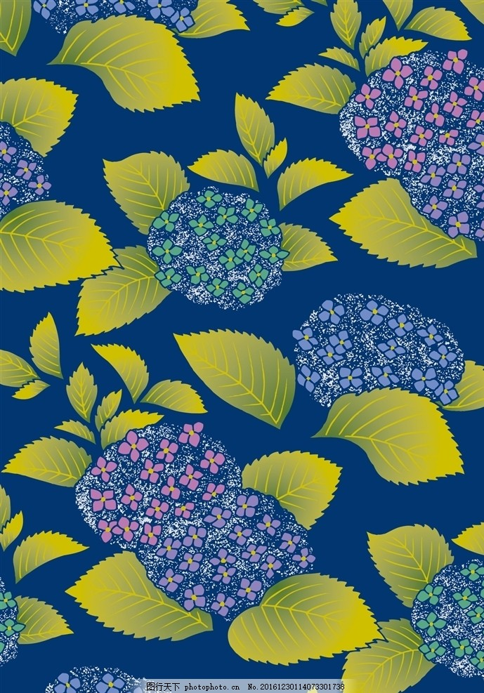 日本图案 传统纹样 友禅纹样 和风 和服图案 服装艺术 古典纹样