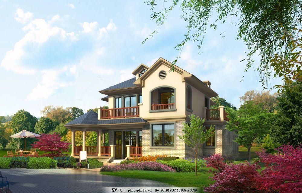 装修效果图 3d设计 立体效果图 建筑效果图 高端建筑 房屋建筑 室外