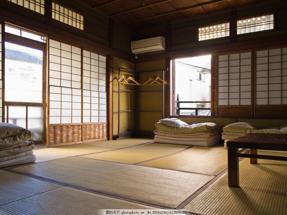 日式卧室设计图片素材 日式      室内设计 房间设计 室内设计 环境