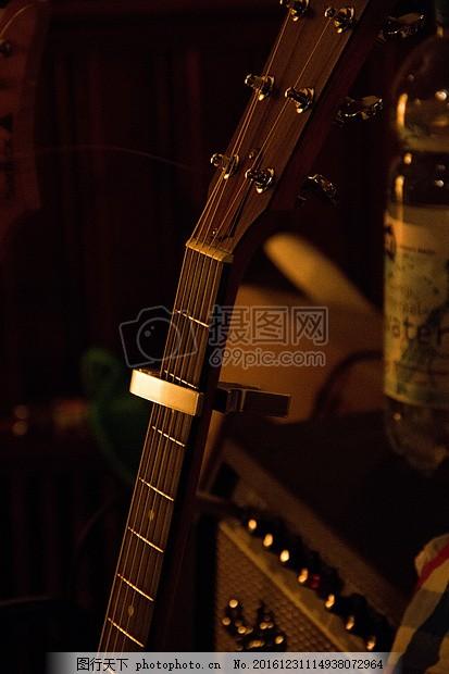 音乐 吉他 放大器 黑色