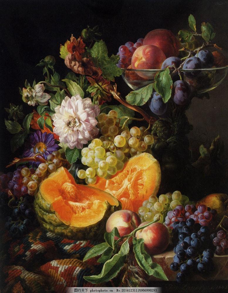 油画水果图片