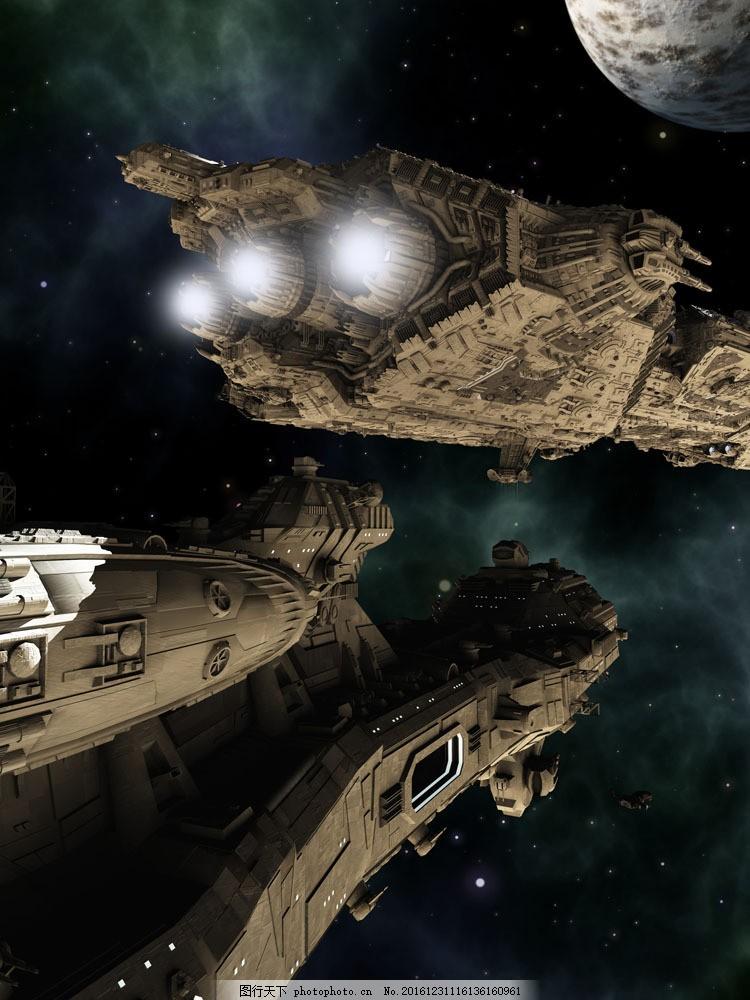 太空战舰飞船图片
